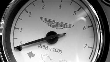 Back & White Aston RPM